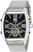 Comprar Aatos PollosSSB - Reloj de caballero automático, caja y correa de acero inoxidable