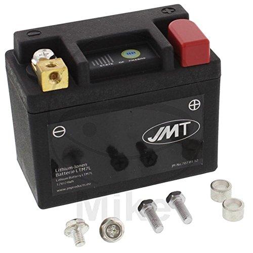 Batterie Motorrad LTM7L JMT Lithium-Ionen mit Anzeige Wasserdicht