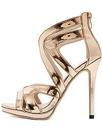 Donna Scarpe Scarpe E it Amazon Tacchi Sandalo Borse Alti 17gEXq