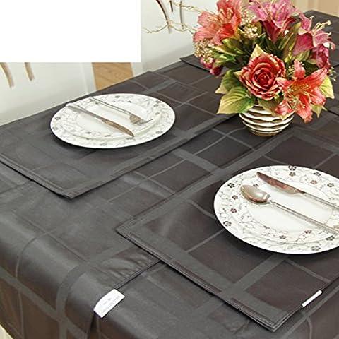 Mode Einfache Raster Tisch Tisch Tisch Flagge,Matratze Kissenbezug Chinesischen Mode Klage Stuhl Kissen-B 150x210cm(59x83inch)