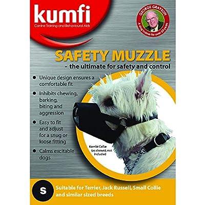 Kumfi Canine Safety Muzzle, Black, S from Kumfi Canine