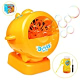 Ucradle Bubble Machine, Automatic Airplane Bubble Blower Machine for Kids Bubbles Maker 1000
