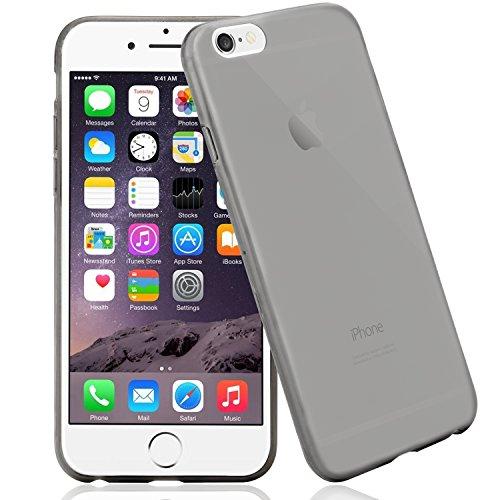 iPhone 6 / 6S Hülle, Bingsale Ultra Slim TPU Case iPhone 6 / 6S Silikon Schutzhülle (transparent grau, iPhone 6 / 6S)