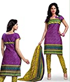 Kesar Printted Cotton (Unstitched) dress...