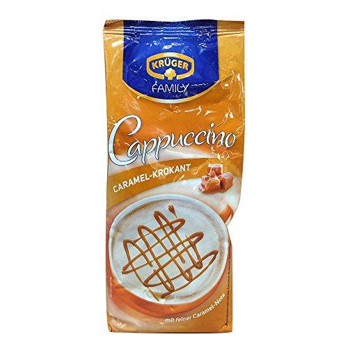 Krüger, Caramel-Krokant Cappuccino (500g Beutel)