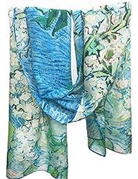 Prettystern P060 - 160cm Art Imprimer impressionnisme soie -van Gogh - floraison Branches de châtaignier