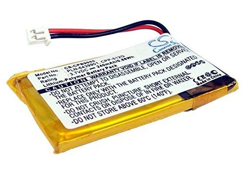 CS-CPB9055 Akku 240mAh [PLANTRONICS] 64327-01, 64399-01, 65358-01, 71036-11, 90225-01, AWH-55, AWH-65, C351N, C65, CA12CD, CA12CD PTT, CS351, CS351N, CS351V, CS361, CS361N, CS50, CS50-USB, CS50USB, C -