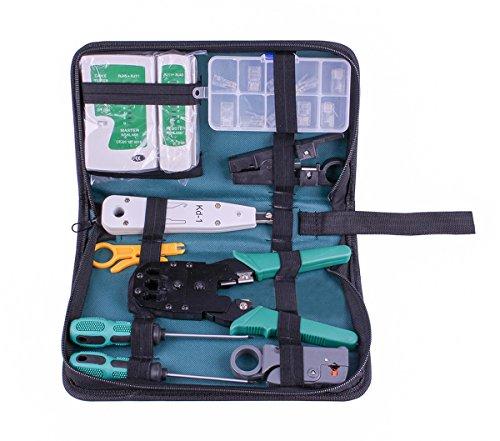 SIBO® NS-468 RJ45 RJ11 Multifunktions-Master und Remote-Netzwerk-Kabel Tester Telefon Kabel Tester Tool Kit SB-NS468 -