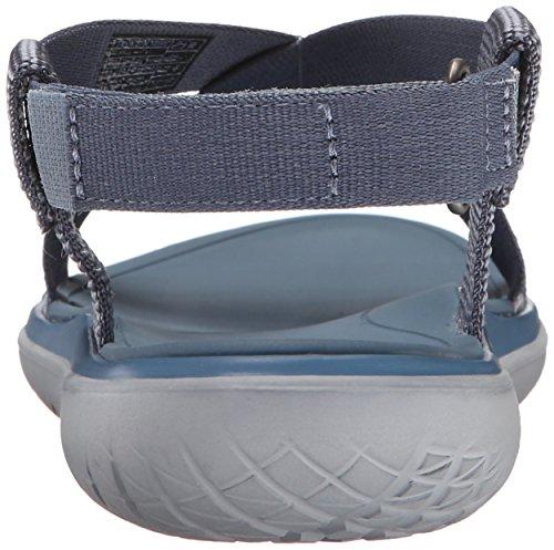 Teva Terra-Float Livia, Scarpe Col Tacco con Cinturino a T Donna, Nero Blu (Mosaic Vintage Blue- MvblMosaic Vintage Blue- Mvbl)