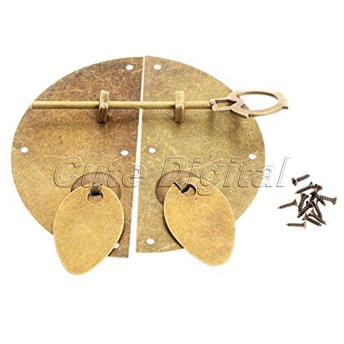 sypure £ š TM) stile cinese ferro hardware mobili porta battente Knocking Pull Vintage blocco chiusura per armadio cassetto 100mm/3.94