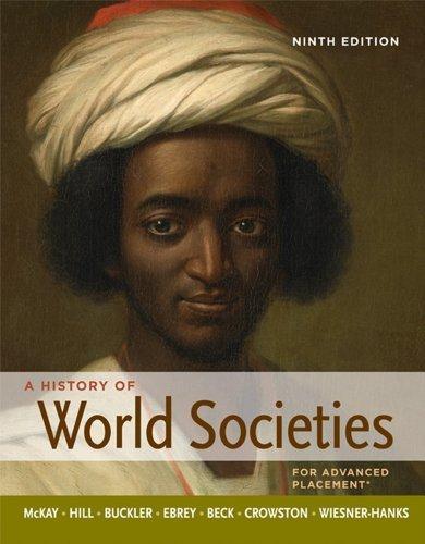 A History of World Societies, High School Edition by University John P McKay (2011-10-07)