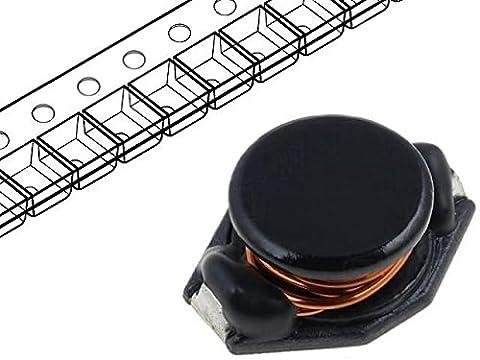 DL22-22 Inductor wire 22uH Ioper2.7A 0.085Ω SMD Isat2.6A B9.4mm FERROCORE