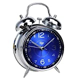 "Best Lifetime Alarm Clocks - Saytay Kids Alarm Clock, 4"" Metal Twin Bell Review"