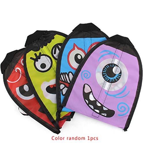e Farbe Cartoon Außen Flingshot Fliegen Spielzeug Finger Shooting Kite Yard Spiele Kinder Spaß Spielzeug Kind Geschenk ()