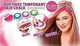 #4: Gooseberry Hot Huez Temporary hair colour chalk with 4 colors