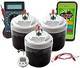 MudWatt - Erneuerbare Energy aus Erde - Baue deine eigene lebende Brennstoffzelle - MINT (Mathmatik, Informatik, Naturwissenschaft, Technik) -