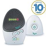 Tigex Babyphone Easy Protect, Écoute-bébé Rechargeable avec mode Eco