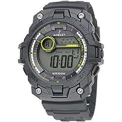 Nowley 8-6233-0-1, Reloj de hombre, digital, gris.