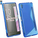 Emartbuy Ultra Slim Gel Skin Schutzhülle Für Sony Xperia X, Blau