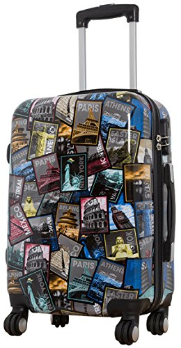 Koffer New All City Größe M Carbon / Polycarbonat Hartschale Reisekoffer Trolley Case Fa. Bowatex