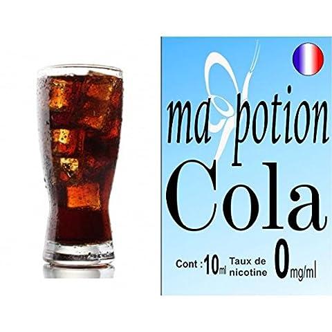 Sans Nicotine - MA POTION - E-Liquide Saveur Cola, Eliquide