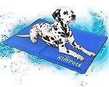 Easylifer Haustier Kühlmatte/Kühlkissen/Liegematte/Kühldecke für Hunde, Katze