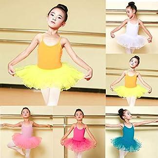 Vectry-Ballettkleid-Kinder-Mdchen-Cami-Gymnastik-Tanzkleidung-Tutu-Tll-Ballett-Training-Body-Dancewear-Kleid2T-6T