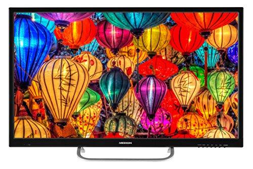Medion S12303 80 cm (31,5 Zoll Full HD) Fernseher (Triple Tuner, DVB-T2 HD, HDMI, CI+, USB, Mediaplayer, Wandhalterung)