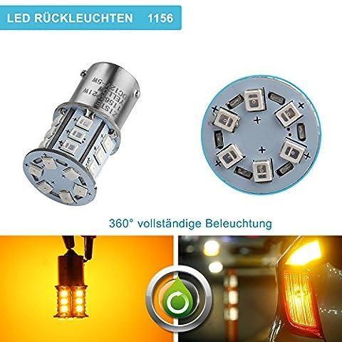 ZISTE Super Bright 2835 Chipsets P21W 1156 Car LED Bulbs
