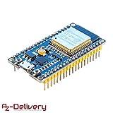 AZDelivery ????? ESP32 NodeMCU modulo WiFi Placa de Desarrollo con CP2102 (sucesor del ESP8266) con ebook Gratis!