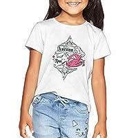 Disney Girl's Princess T-shirts, White, 5-6 Years