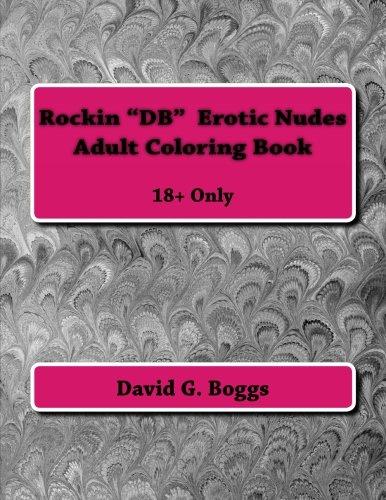 Rockin DB Erotic Nudes Adult Coloring Book Db-papier