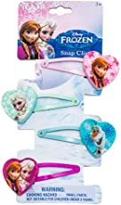 Joy Toy 755076Disney Frozen Haarklammern, 4Stück