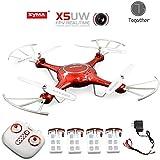 Galleria fotografica Togather Syma X5UW FPV Drone 2.4G HD Wifi della macchina fotografica in tempo reale di trasmissione RC senza...