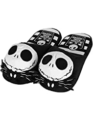 "The nightmare before christmas ""jack skellington plush chaussons 3D"