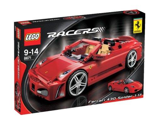 Lego Racers  8671 - Ferrari 430 Spider 1:17 -
