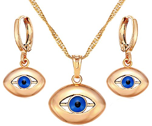 saysure-blue-evils-eyes-drop-earrings-and-pendant-necklace