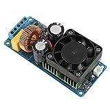 ASHATA Mono Amplifier Board, IRS2092S 500W Mono Channel Digital Amplifier Board Class D HIFI Power Amp Board