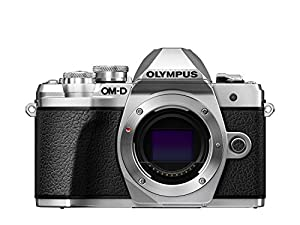 Olympus OM-D E-M10 Mark III Compact System Camera - Silver