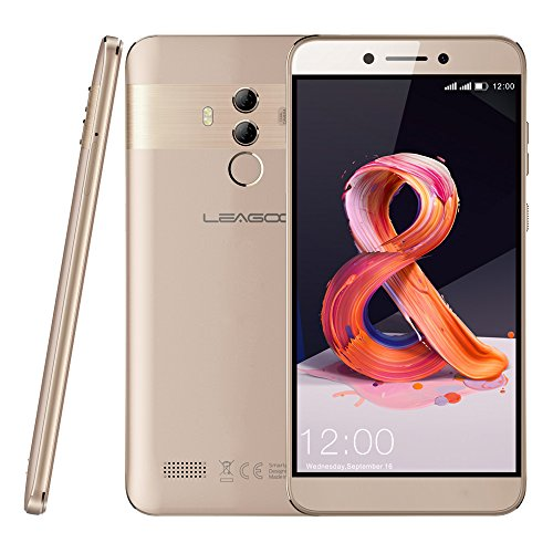 Leagoo T8s - 5,5' 4G LTE Smartphone, Android 8.1 Octa Core 4GB+32GB, Cámara 13MP+2MP & 5MP, Reconocimiento Facial,...