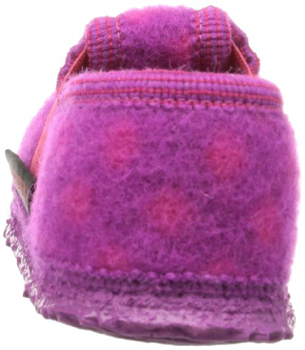 Giesswein Tunau 60/10/42688-364 Mädchen Hausschuhe Pink (himbeer 364)