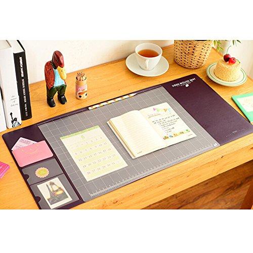 Saflyse New Design groß Schreibtischunterlage Computer schreibtischunterlage (Kaffee)