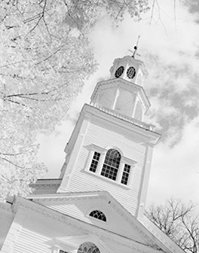 USA Vermont Bennington First Church Poster Drucken (60,96 x 91,44 cm) -