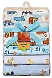 Carter's 4 Receiving Blankets (Blue Car ...