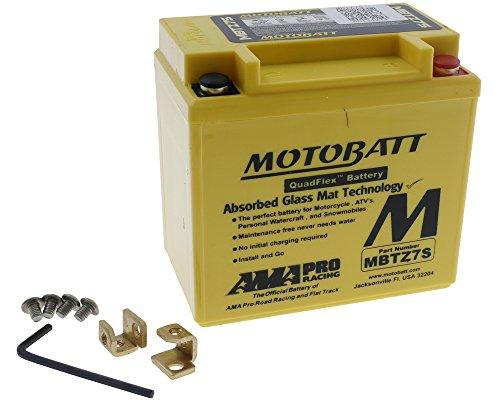 Batterie MOTOBATT für Honda CRF 250 X ME11 2006-2005 [inkl. 7.50 Euro Batteriepfand]