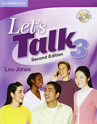 Let's Talk 2nd  3 Student's Book with Self-study Audio CD