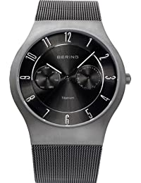 BERING Time Herren-Armbanduhr Slim Classic 11939-077