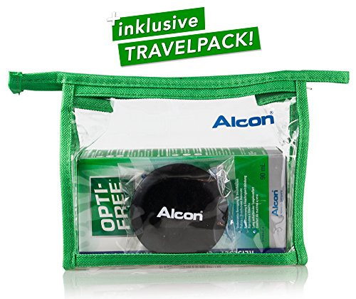 Alcon Optifree Puremoist 2x300ml Kontaktlinsen-Pflegemittel inkl. Reise-Set 90ml (Opti-Free) - 4