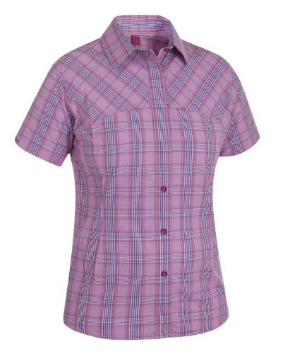 Salewa Camicia da donna Sira Dry AM w Short Sleeve Shirt Mehrfarbig (m lior azalea)