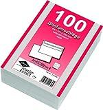 200 (2x 100) Mailpack Briefumschläge Din C6 weiß selbstklebend